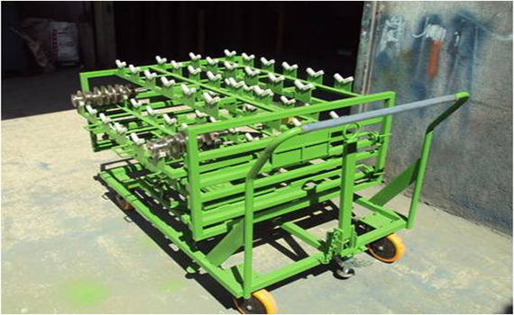 ENGINE SHAFT TROLLEY