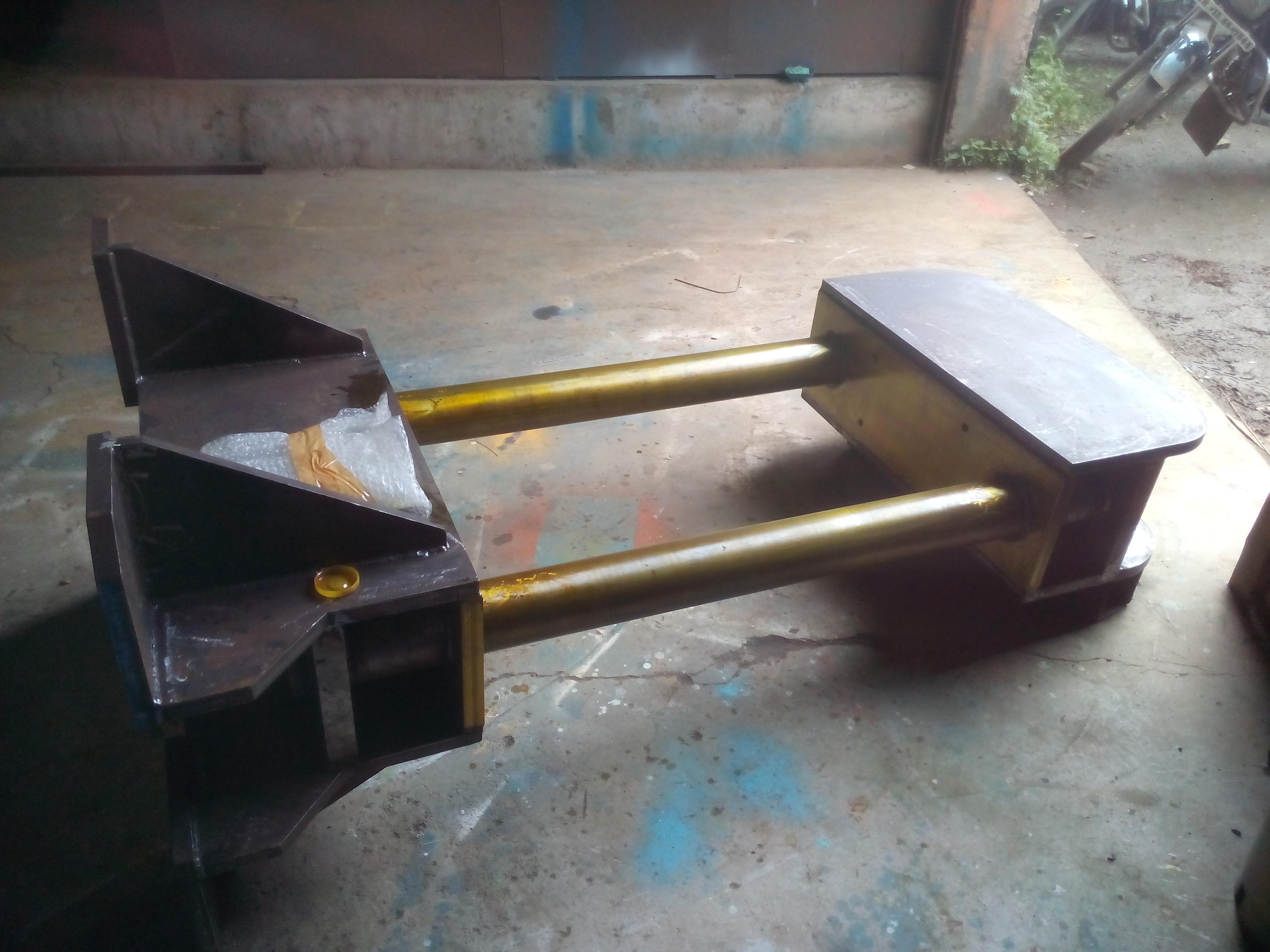 Press machine welding-photo 2