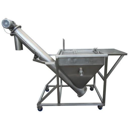 Screw conveyor for powder