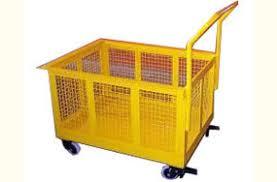 Trolley -mesh guard