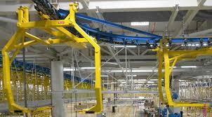 top moving automobile conveyor