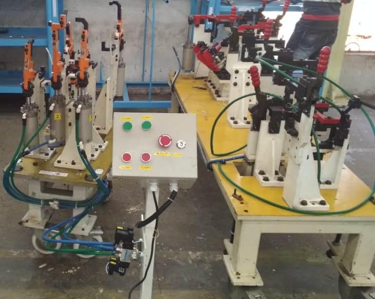 Electro-Pneumtic Welding fixture