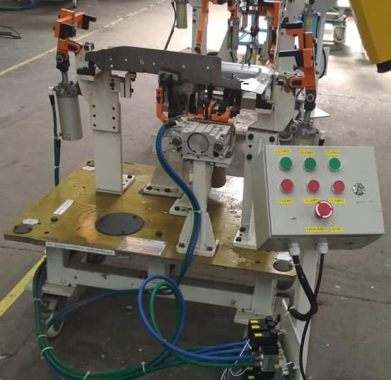 Electro-Pneumtic welding fixture-1