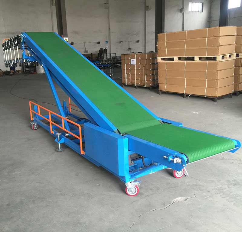 Truck loading conveyor-5