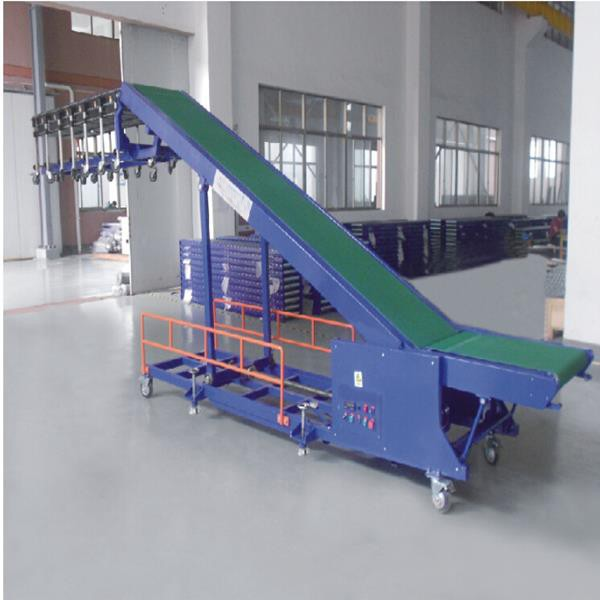 Truck-loading-unloading-belt-conveyor